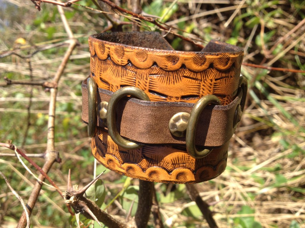 Bracer Bracelet Leather Unisex
